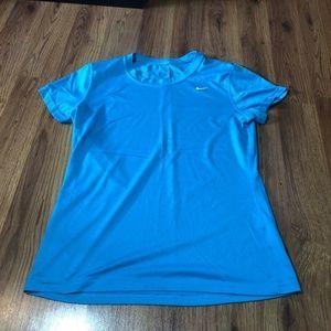 Nike Blue Workout Tee Shirt